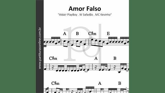 Amor Falso | Aldair PlayBoy . W Safadão . MC Kevinho
