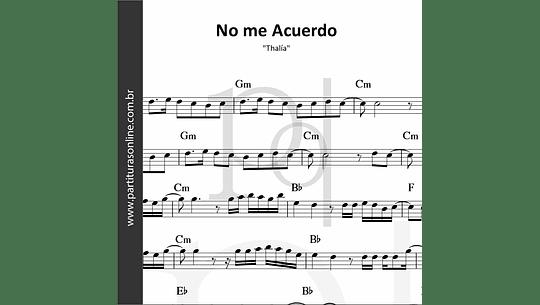 No me Acuerdo | Thalía