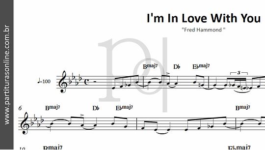 I'm In Love With You | Fred Hammond