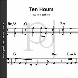 Ten Hours | Warren Barfield