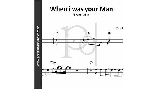 When i was your Man | Bruno Mars