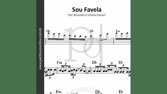 Sou Favela   MC Bruninho e Vitinho Ferrari