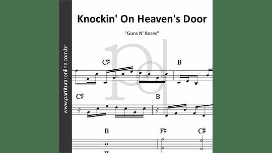 Knockin' On Heaven's Door | Guns N' Roses