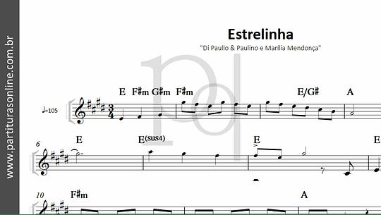 Estrelinha | Di Paullo & Paulino e Marília Mendonça