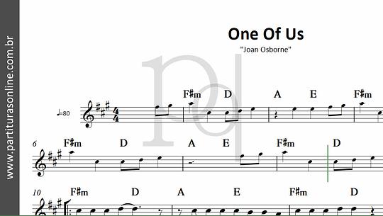 One Of Us | Joan Osborne