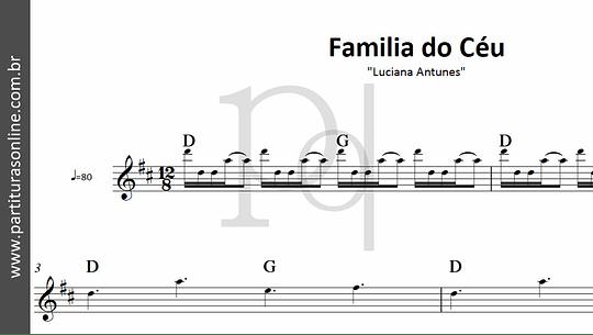 Família do Céu | Luciana Antunes