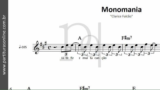 Monomania   Clarice Falcão