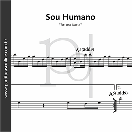 Sou Humano | Bruna Karla