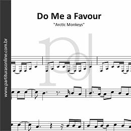 Do Me a Favour | Arctic Monkeys