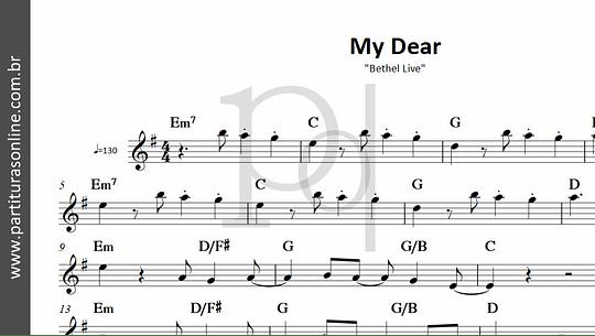 My Dear | Bethel Live