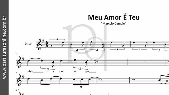 Meu Amor É Teu | Marcelo Camelo