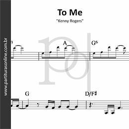 To Me | Kenny Rogers