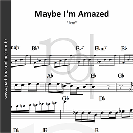 Maybe I'm Amazed | Jem