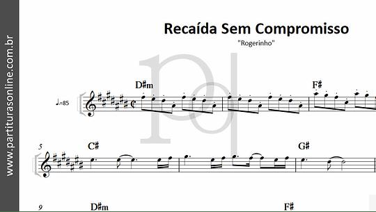 Recaída Sem Compromisso | Rogerinho