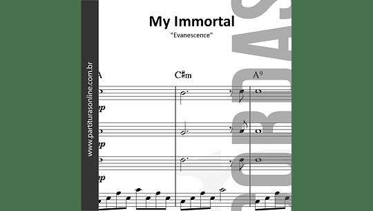 My Immortal   Quarteto de Cordas