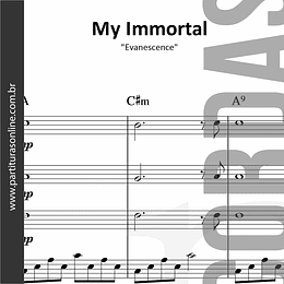 My Immortal | Quarteto de Cordas