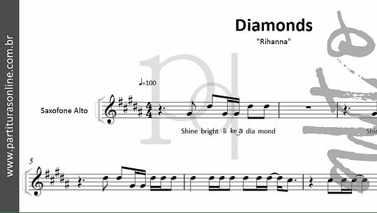 Diamonds - pagode   Rihanna