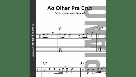 Ao Olhar Pra Cruz | para Piano