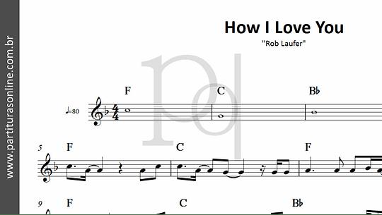 How I Love You | Rob Laufer