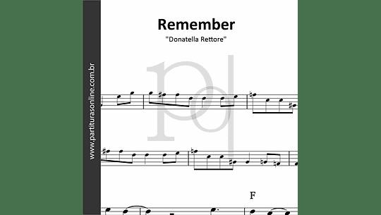 Remember | Donatella Rettore