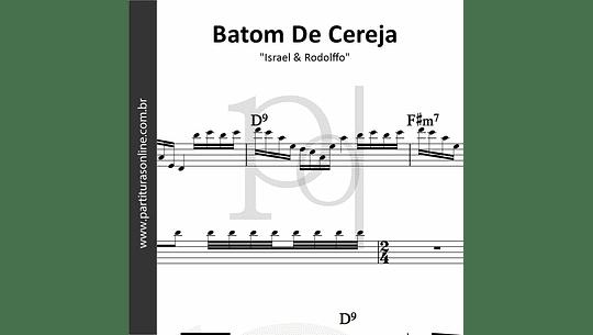 Batom De Cereja (Aqui e Agora)   Israel & Rodolffo