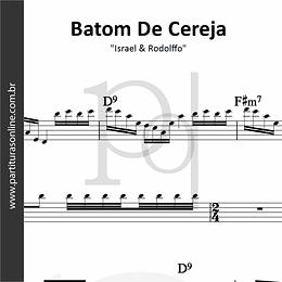 Batom De Cereja (Aqui e Agora) | Israel & Rodolffo