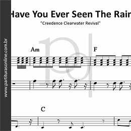 Have You Ever Seen The Rain | Creedence Clearwater Revival