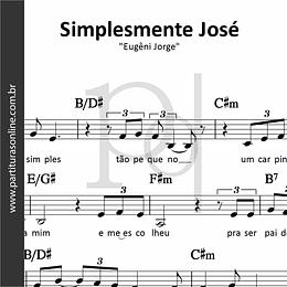 Simplesmente José | Eugêni Jorge