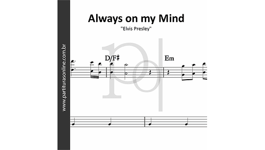 Always on my Mind | Elvis Presley