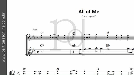 All of Me   John Legend