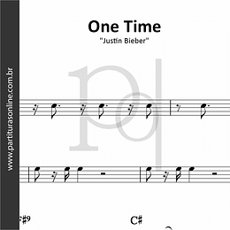 One Time | Justin Bieber