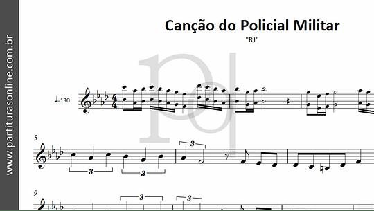Canção do Policial Militar | RJ