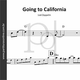Going to California   Led Zeppelin