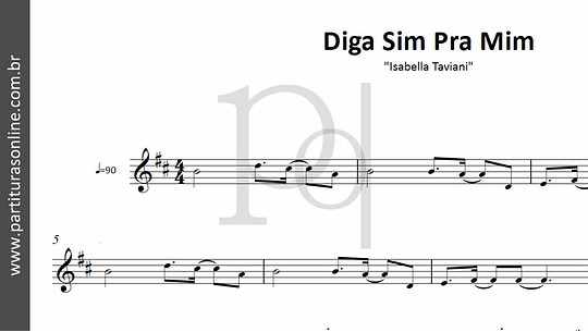 Diga Sim Pra Mim | Isabella Taviani