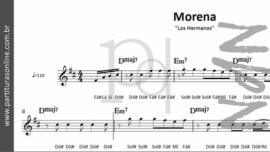 Morena | Los Hermanos