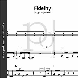 Fidelity | Regina Spektor