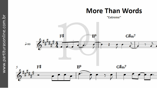 More Than Words | Extreme