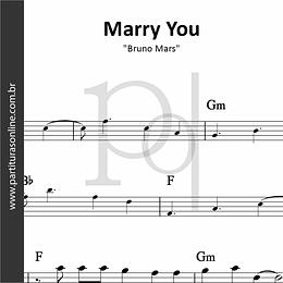 Marry You | Bruno Mars