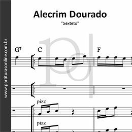 Alecrim Dourado | arranjo para Sexteto