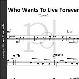 Who Wants To Live Forever | Queen