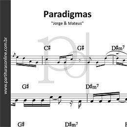 Paradigmas | Jorge & Mateus