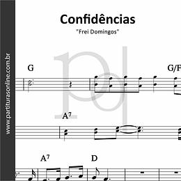 Confidências | Frei Domingos