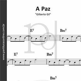 A Paz | Gilberto Gil
