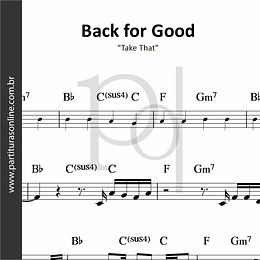 Back for Good  | Take That