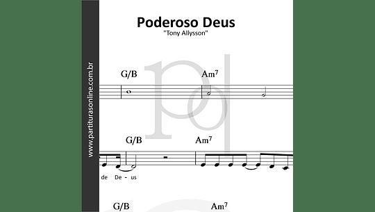 Poderoso Deus | Tony Allysson