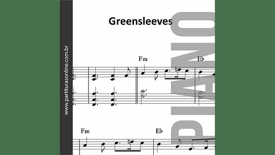 Greensleeves | para Piano e Teclado