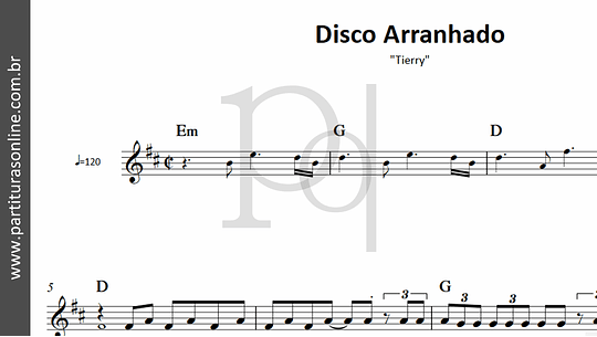 Disco Arranhado | Tierry