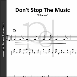 Don't Stop The Music | Rihanna