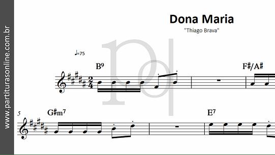 Dona Maria | Thiago Brava