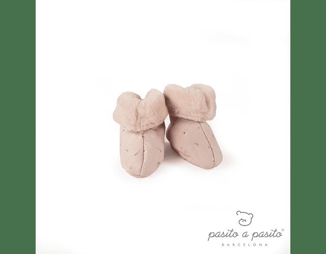 Patucos Rosa - Pasito Furs